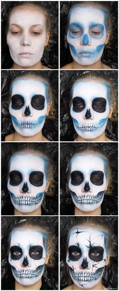 Cool Halloween Makeup, Cute Halloween, Halloween Makeuo, Halloween City, Halloween Costumes, Halloween Office, Halloween Recipe, Halloween Parties, Halloween Desserts