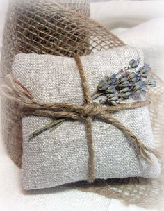 Trying to find the simplest, but still very attractive lavender bags. This looks fairly easy.