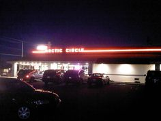 Arctic Circle, Magna, UT.  This was the coolest building in the chain.  They demolished it and put up a boring new building in 2014.