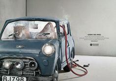 The China Environmental Protection Foundation - Goodbye Cruel World - Ogilvy & Mather Hong Kong Social Advertising, Creative Advertising, Print Advertising, Print Ads, Banned Ads, Ogilvy Mather, Foundation, Funny Ads, Best Ads