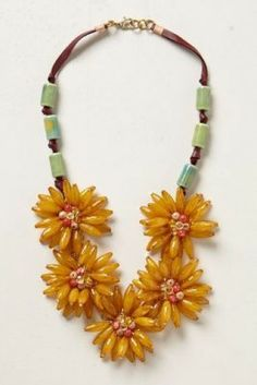 Anthropologie Blossomed Garland Necklace worn by Annabeth on Hart of Dixie #HartOfDixie http://www.pradux.com/anthropologie-blossomed-garland-necklace-25596?q=s24