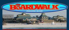 Shopping Center, Beach Park, Seafood Restaurants | The Boardwalk on Okaloosa Island - Destin FL, Fort Walton Beach