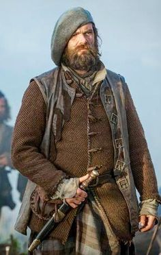 "Fictional Death I Will Never Get Over: I have soooo much love for Murtagh FitzGibbon Fraser, godfather of Jamie Fraser!! Jamie's last memory of Culloden in ""A Breath Of Snow and Ashes"" just kills me! :'( (Murtagh as portrayed by Duncan Lacroix)"