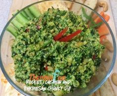 Recipe Rocket, Cashew and Parmesan Chunky Dip - ThermoFun by leonie, learn to make this recipe easily in your kitchen machine and discover other Thermomix recipes in Sauces, dips & spreads. Dip Recipes, Light Recipes, Whole Food Recipes, Snack Recipes, Cooking Recipes, Savoury Recipes, Dips, Pesto Dip, Bellini Recipe