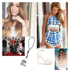 """""""At DigiFest!!-Aurora"""" by cecilia-bella ❤ liked on Polyvore featuring beauty and Nly Shoes"""