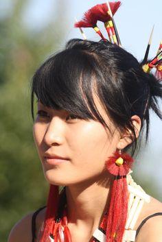 A Sumi Naga woman from Zunheboto