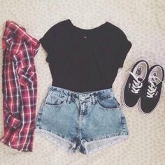 Perfect warped tour outfit