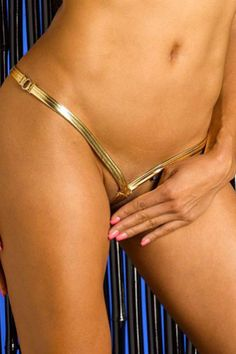 Gold Onyx Ultimate V-string
