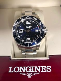 Buying The Right Type Of Mens Watches - Best Fashion Tips Longines Watch Men, Longines Hydroconquest, Best Watches For Men, Omega Watch, Cool Style, Stuff To Buy, Mens Fashion, House, Clocks