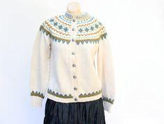 vintage 1960's Klover Huset Norway Norwegian by WindingRoadVintage, $48.00