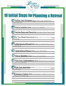 How to Plan a Women's Retreat | Loving Christ Ministries