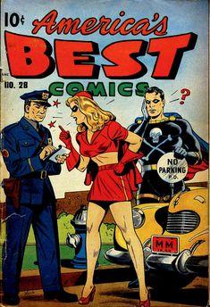 Comic Book Cover For America's Best Comics #28