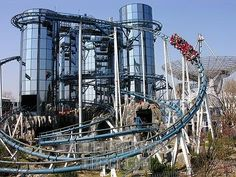 Europa Park...cool ride, we rode it in the very back, going backwards