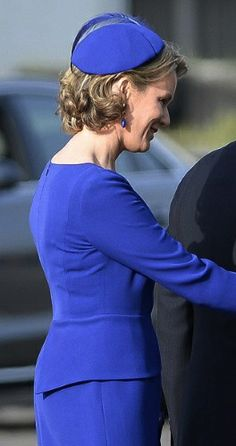 Queen Mathilde, March 30, 2014 | The Royal Hats Blog