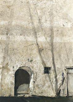"Senda fachada. «Andrew Wyeth (1917–2009): ""Lenape Barn""»."