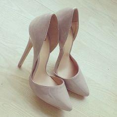 A good nude heel is always a good idea.