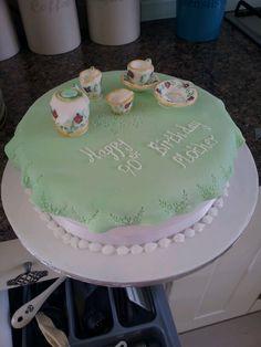 bone china cake