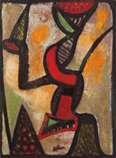 Composition (1954), estimée entre 30 et 40000 €.