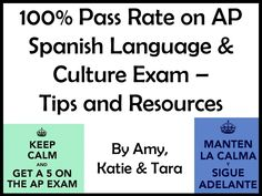 Resources from our 2018 AP Spanish Presentation! Ap Spanish, Spanish Class, Teaching Spanish, Ap Exams, Exams Tips, Ap Language, Spanish Language, College Board, Teacher Resources