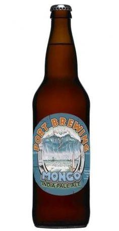 Cerveja  Port Brewing Mongo IPA, estilo Imperial / Double IPA, produzida por Lost Abbey, Estados Unidos. 8.5% ABV de álcool.