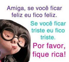 Fotos e Imagens para Facebook - Amiga Fique Rica