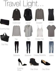 What to wear/pack