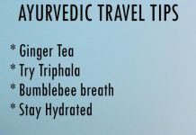 AYURVEDIC TRAVEL TIPS TO MAINTAIN GOOD HEALTH