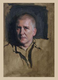 Louis Smith. Contemplate using similar color palette. Study.