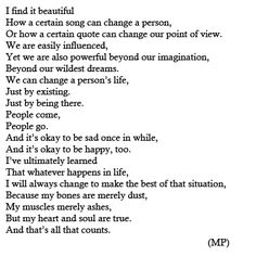 heart and soul. #INFP