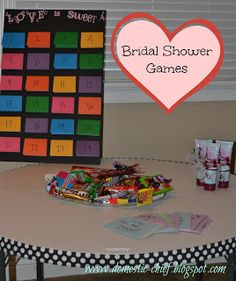 Chief Domestic Officer: Bridal Shower Games