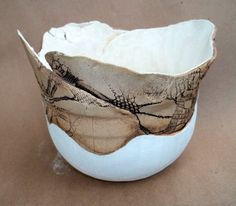 Tranquility Hand Built Ceramic Bowl
