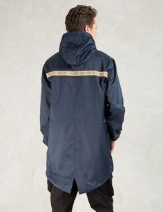 10.DEEP Navy Fishtail Safety Slickr Hoodie