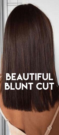 Blunt Cut Hairstyles – Haircuts For Long Hair, Medium Hair & Bob Cut