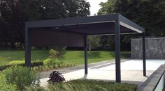 Outdoor Living Pod Louvered Roof