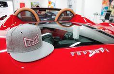 """ The Arrival - Battleship "" III Luxury I Snapback I Hat I Hats I Ferrari I Melin Brand I $150.00"
