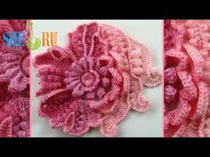 ▶ Scrumbles Freeform Crochet Tutorial 1 Part 1 of 2 Freeform Crochet Series - YouTube