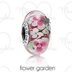 Pandora's Flower Garden Murano New for the Spring 2016 Collection