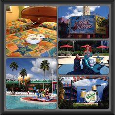 Impressions of All Star Music Resort. #disney