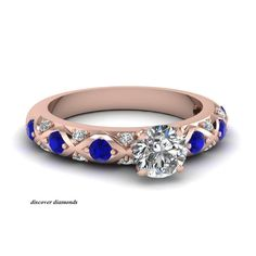 14k Solid Rose Gold Certified 1.45 Ct Round Diamond Solitaire Engagement Ring #discoverdiamonds #Solitaire