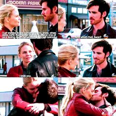 Colin O'Donoghue - Killian Jones -Captain Hook - Jennifer Morrison - Emma Swan - Once Upon A Time 5x23