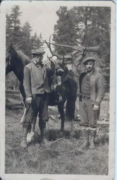 Outdoor Life Vintage Hunting Photo Collection