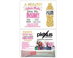 Plexus Slim Sample Postcard | Etsy, Plexus Slim und Karten