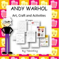 Andy Warhol Lessons - 18 Pages