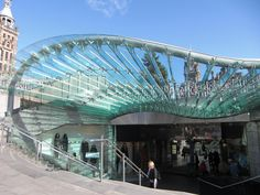 Waverley Railway Station entrance, Edinburgh, Scotland