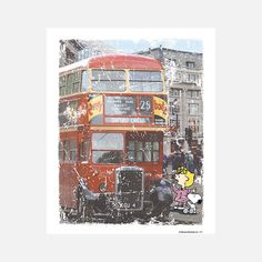 PEANUTS: Snoopy London Bus Ride