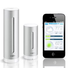 Netatmo - Weather Station and Air Quality Monitor for iPhone and iPad - The Green Head