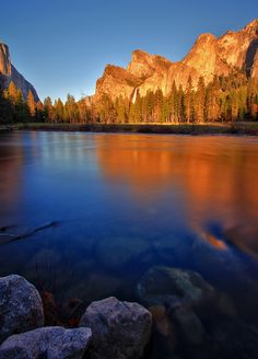 Sunset at the Gateway to Yosemite