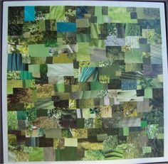 individual tile from Rainbow Collage Table Tiles (VERY image heavy!!) - CRAFTSTER CRAFT CHALLENGES