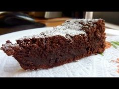 How to make Flourless Chocolate Cake, Gluten and Dairy free Recipe Chocolate Sin Gluten, Flourless Chocolate Cakes, Chocolate Desserts, Chocolate Icing, Gluten Free Sweets, Gluten Free Cakes, Dairy Free Recipes, Brownie Recipes, Cake Recipes
