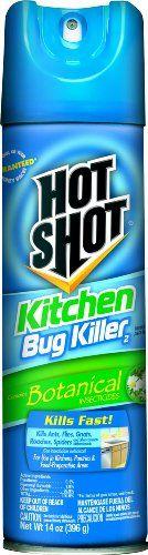 Hot Shot 4470 14Ounce Kitchen Bug Killer Aerosol Case Pack of 1